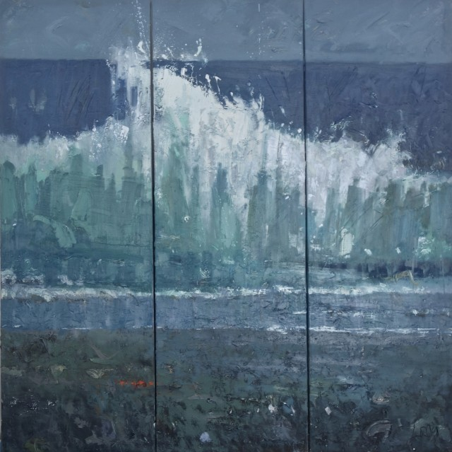 Gary Long, Wave Triptych