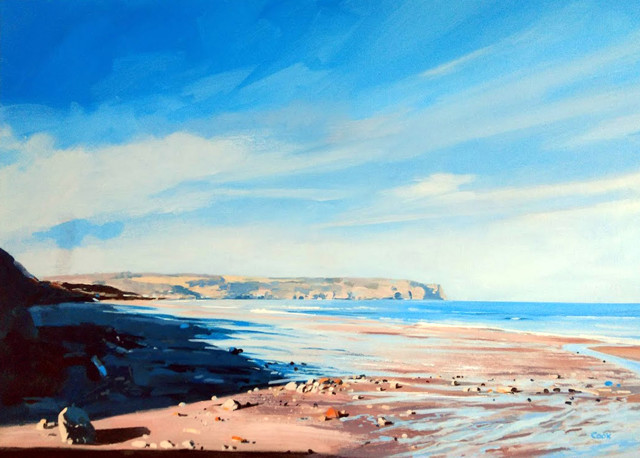 Colin Cook, Looking down to Sandsend