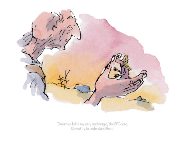Quentin Blake/Roald Dahl, Dreams is full of Mystery and Magic
