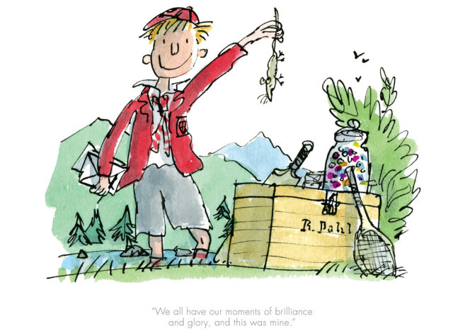 Quentin Blake/Roald Dahl, We all have our moments of brilliance