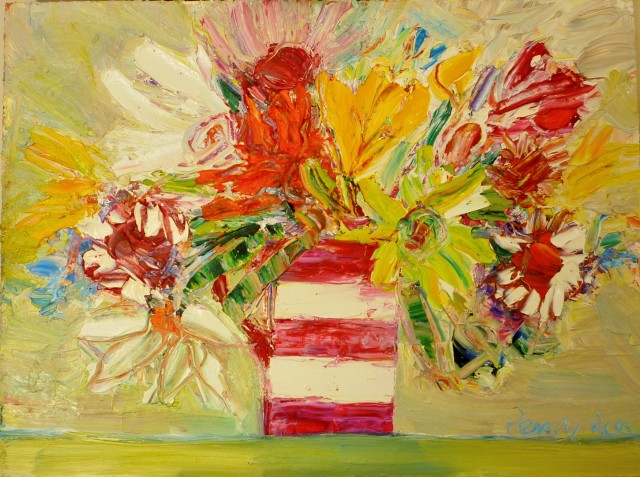 Penny Rees, Striped Vase