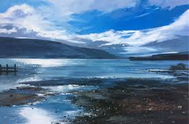 Colin Cook, Morning Light at Coniston Water