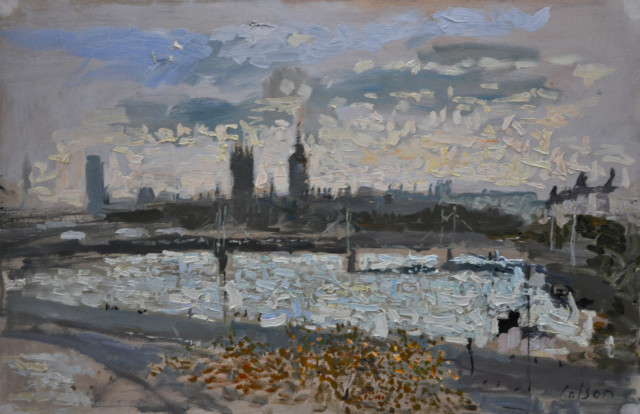 View from Somerset House, Evening