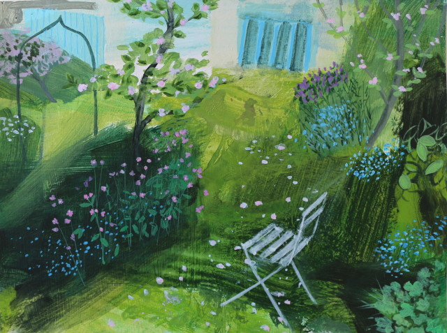 Jane Askey, Garden Shade May Day