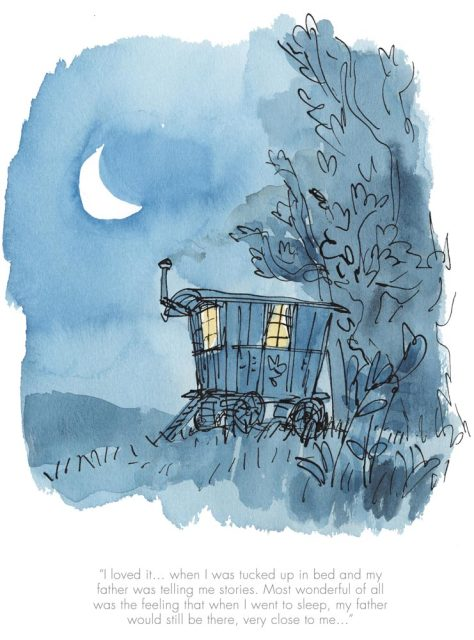 Quentin Blake/Roald Dahl, When I was tucked up in bed