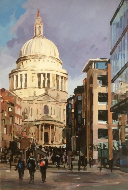 St Paul's from Peter's Hill