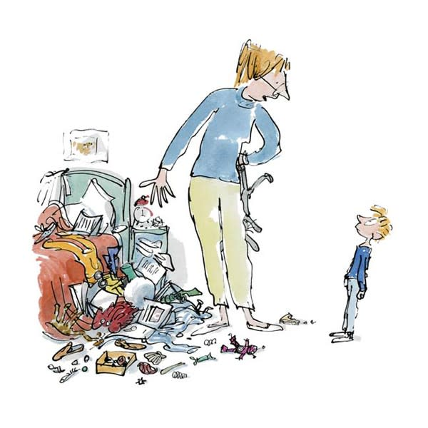 Quentin Blake/Roald Dahl, SOLD OUT - Simpkin This