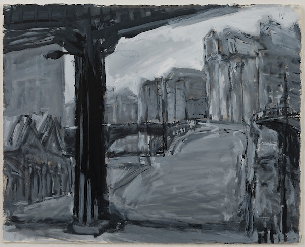 Kevin Connor, Iron Bridge (to Pier 19, Pyrmont), 1992