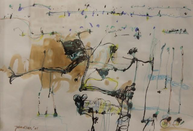 John Olsen, Frogs, 2001