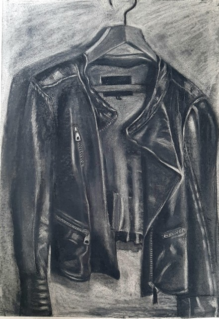 Tracey Levett, Leather Jacket, 2020