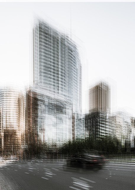 Mark Syke, Aurora Place Sydney (Blur Series), 2018