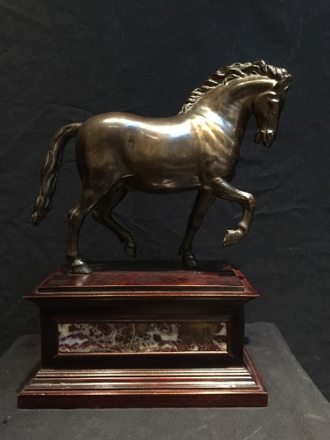 <span class=&#34;title&#34;><em>Bronze Horse after a Model by Giambologna</em>, North Italy, 17th Century </span>