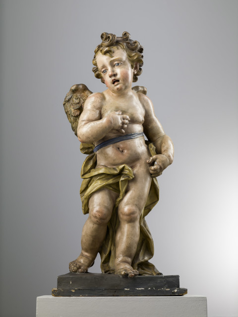 <span class=&#34;artist&#34;><strong>Giuseppe Sanmartino</strong></span>, <span class=&#34;title&#34;><em>Angel</em>, Naples, Second half of 18th Century</span>