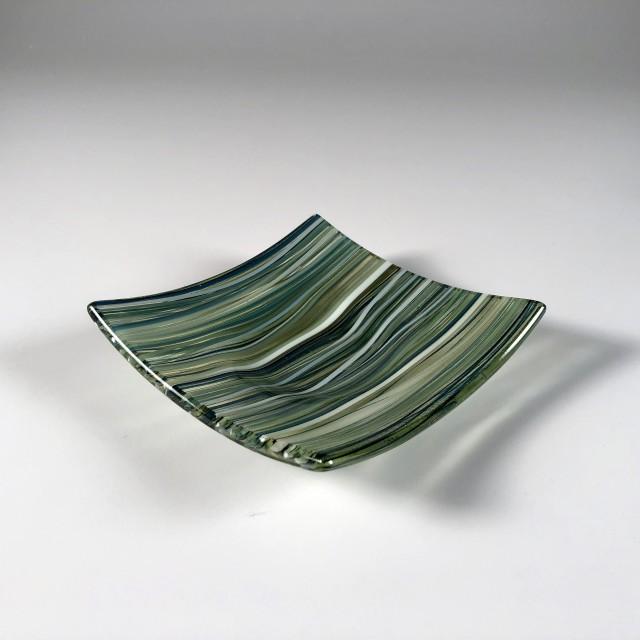 Pastel Cane Dish (Green Tea) 02