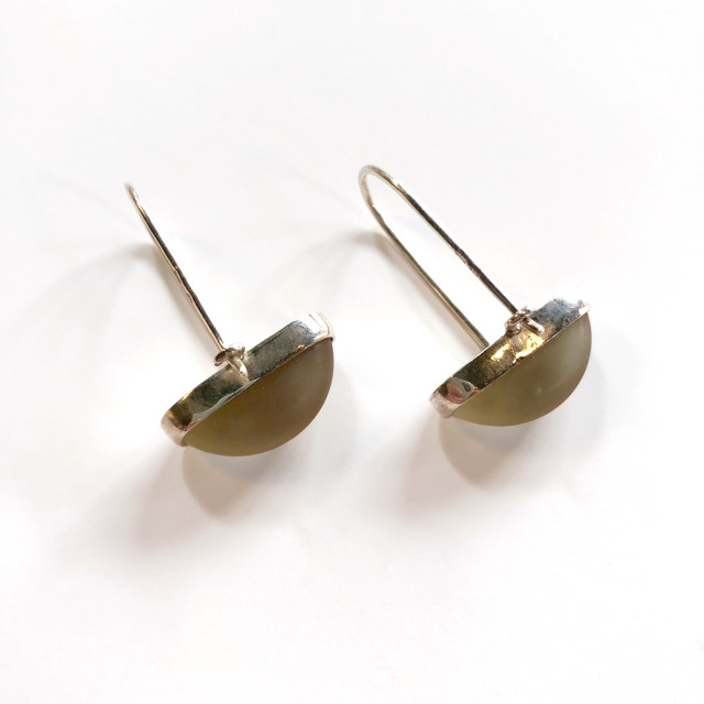 Rhubarb Minimal Earrings