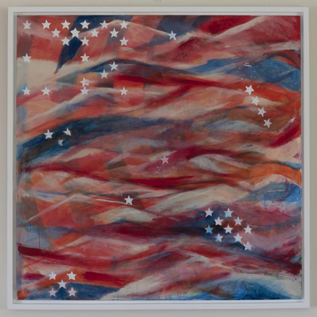 Stars and Stripes (print), 2018