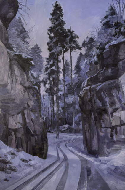 Quarry Road Winter – Black Forest