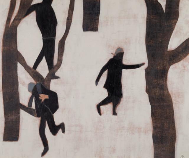Anne Rothenstein Snow, 2018 Oil on Wood 20 x 24 cm