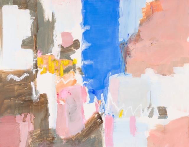 Pippa Blake, Downtown II, 2019