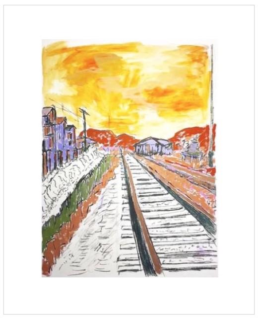 <span class=&#34;artist&#34;><strong>Bob Dylan</strong></span>, <span class=&#34;title&#34;><em>Man On A Bridge</em>, 2008</span>