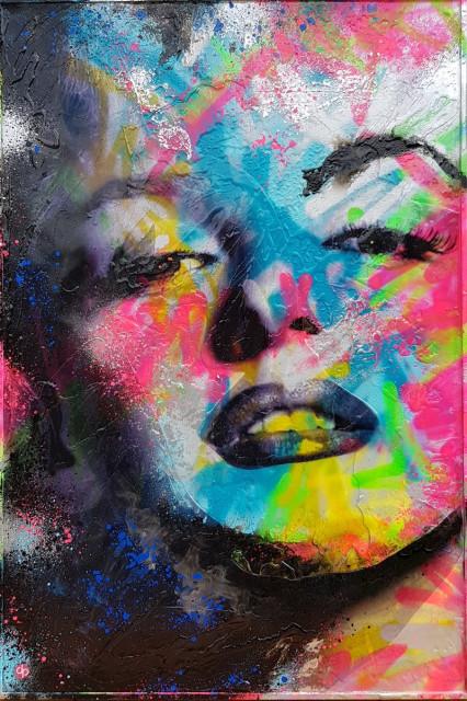Vibrant Marilyn - original