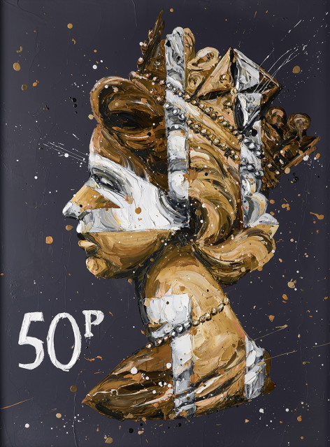 50k Queen (canvas), 2017
