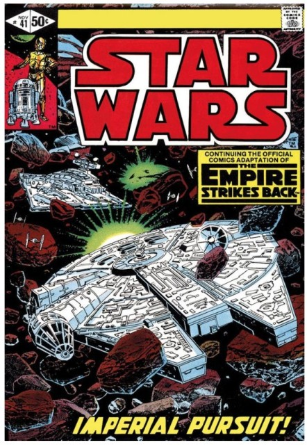 Star Wars #41 - The Empire Strikes Back - Imperial Pursuit (paper)