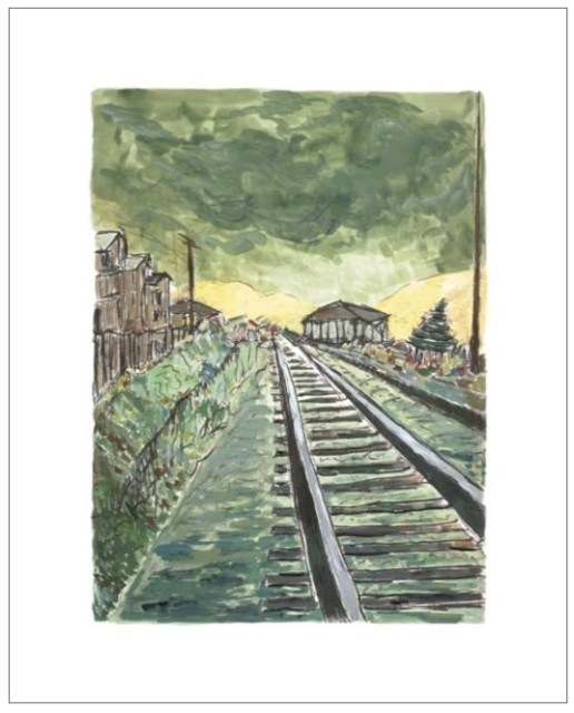 Train Tracks (green), 2010