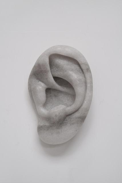 Michael Sailstorfer I can hear you (#8), 2019 Salt 43 x 30 x 18 cm 16 7/8 x 11 3/4 x 7 1/8 in