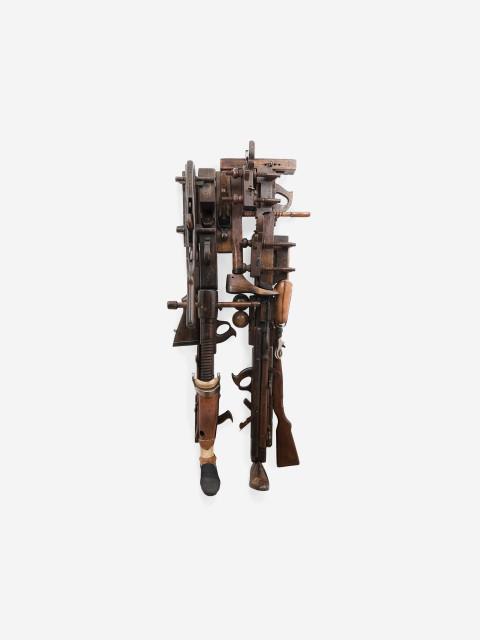 Sara Rahbar No place like home (206 Bones), 2015 Mixed media 149.86 x 86.36 x 35.56 cm 59 x 34 x 14 in