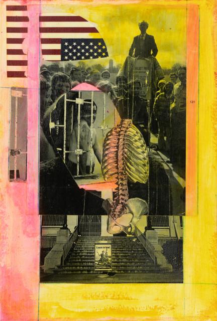 Sara Rahbar, Animals #86 (Framed), 2020