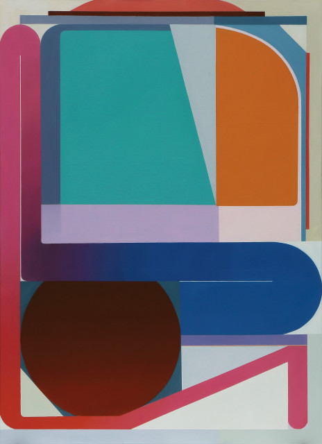 Bernhard Buhmann Elaine, 2017 Oil on canvas 200 x 145 cm 78 3/4 x 57 1/8 in