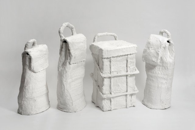 Joe Sweeney, Untitled (Wheelie Bags), 2016