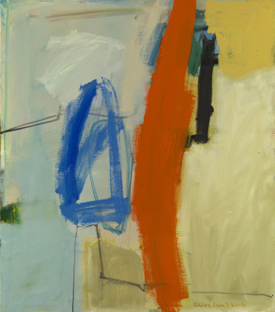 Chloe Lamb, Blue and Orange