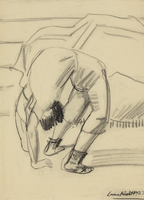 Dame Laura Knight (1877 - 1970), Acrobat (Olympia)