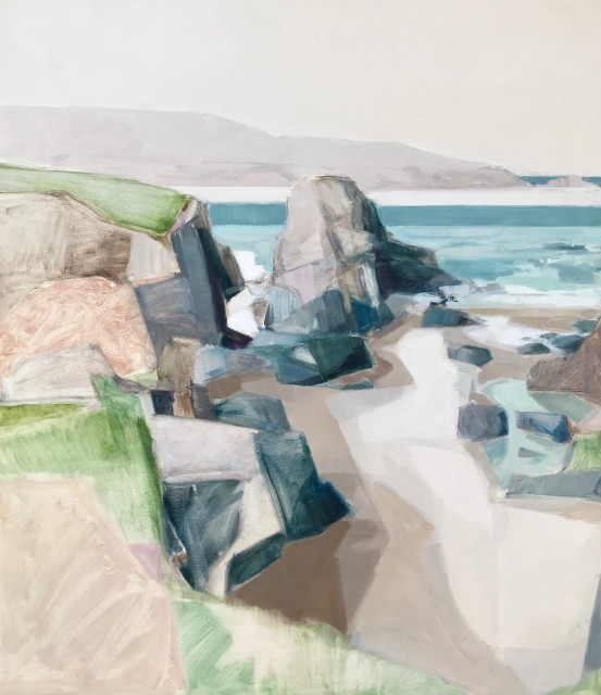Myles Oxenford, Clodgy Point, St Ives (London Gallery)
