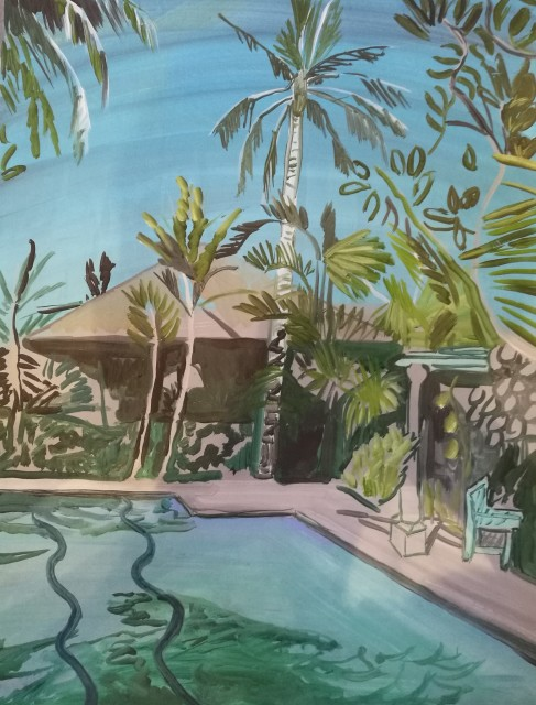Lucy Smallbone, Tropical Palm, 2017