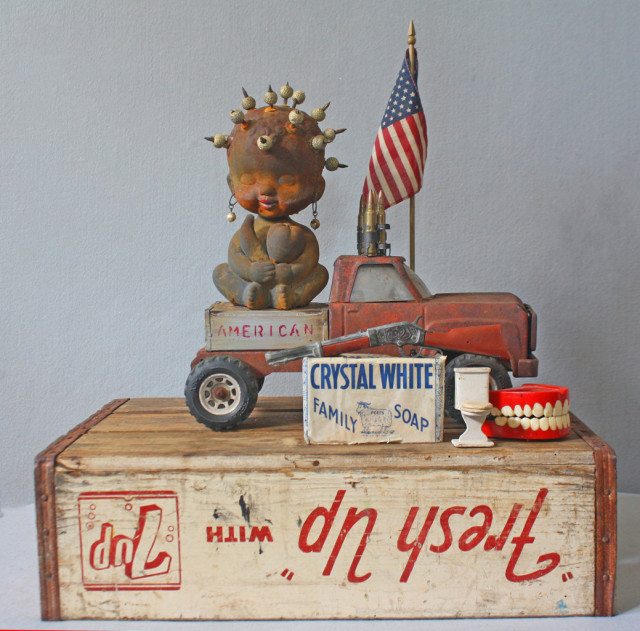 Willie Little, American Made, 2016