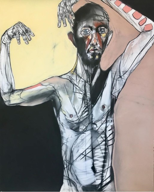 <span class=&#34;artist&#34;><strong>Kris Hargis</strong></span>, <span class=&#34;title&#34;><em>Ol' four eyes</em>, 2018</span>