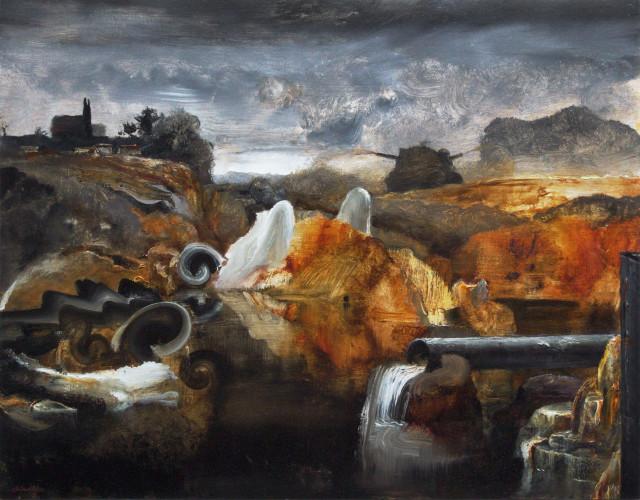 Kevin Kadar, Toxic Dump, 2018