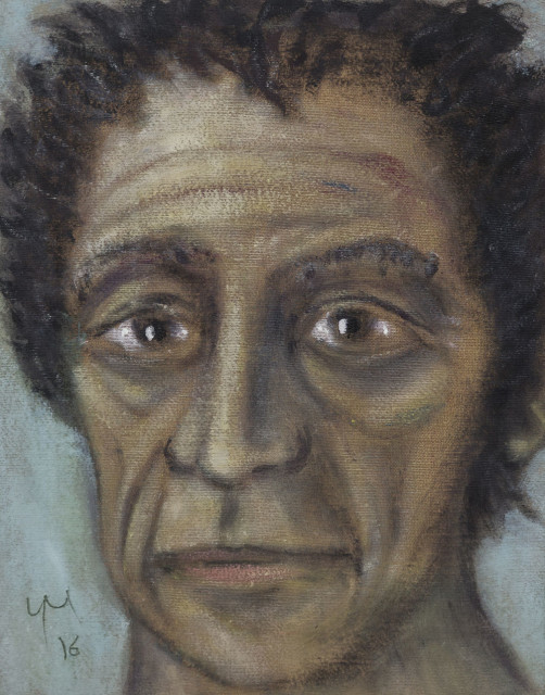 <span class=&#34;artist&#34;><strong>Gr&#233;goire M&#252;ller</strong></span>, <span class=&#34;title&#34;><em>Giacometti</em>, 2016</span>