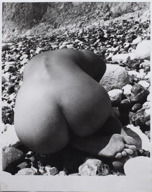 Bill Brandt, Nude & Stones (East Sussex), 1978