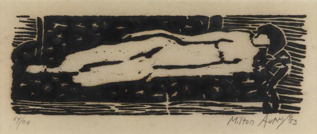 Milton Avery, Nude, 1953