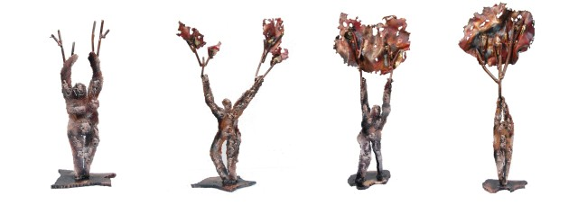Randy Klein, Man Tree (4 pieces)