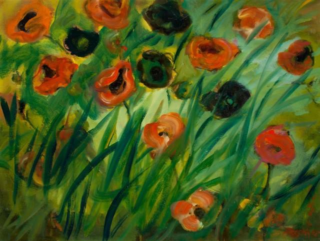 <span class=&#34;artist&#34;><strong>Yankel Feather</strong></span>, <span class=&#34;title&#34;><em>Summer Flowers</em></span>