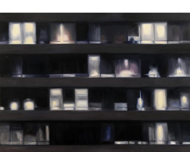 <span class=&#34;artist&#34;><strong>Erin de Burca</strong></span>, <span class=&#34;title&#34;><em>Four Storeys</em>, 2012</span>