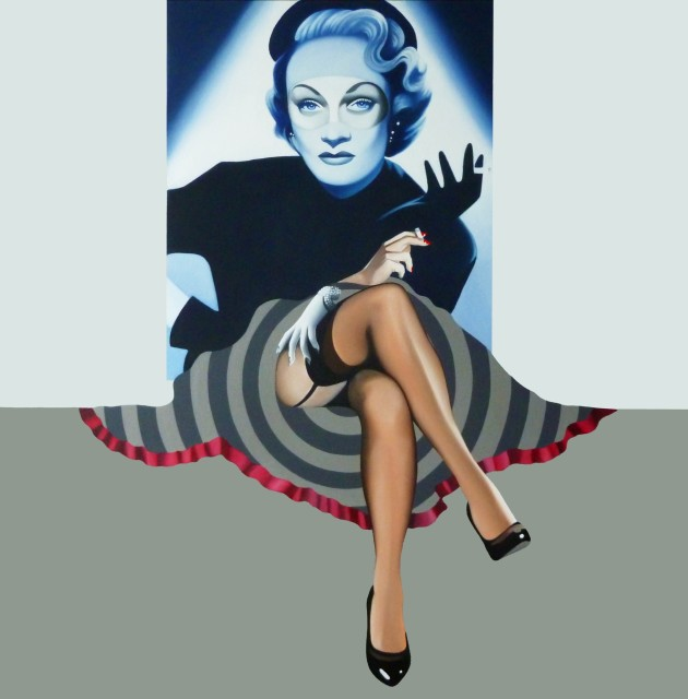 Alain Magallon, One For My Baby (Marlene Dietrich), 2014
