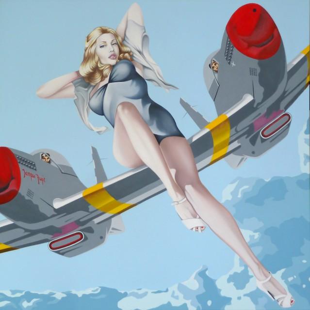 Alain Magallon, Blonde Bombshell (Angelina Jolie), 2014