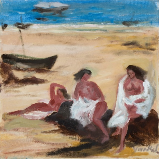 <span class=&#34;artist&#34;><strong>Yankel Feather</strong></span>, <span class=&#34;title&#34;><em>Relaxing in the Sun</em></span>