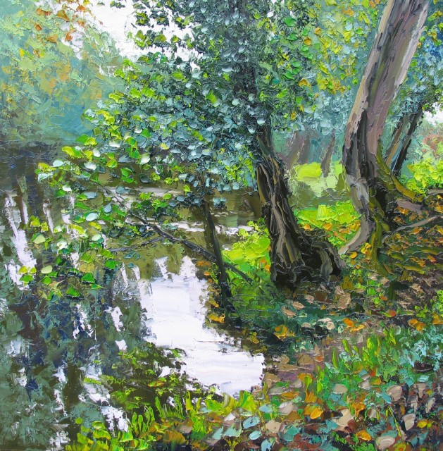 <span class=&#34;artist&#34;><strong>Colin Halliday</strong></span>, <span class=&#34;title&#34;><em>River's Edge</em>, 2014-15</span>